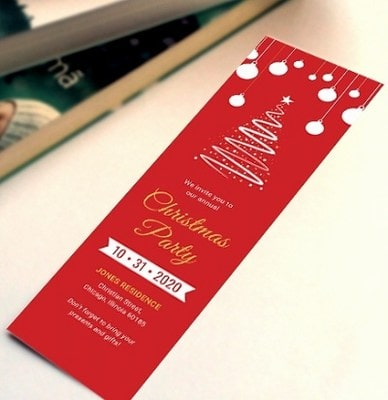 Designing Christmas Bookmarks kids