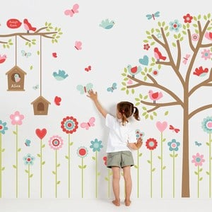 Flower wall Stickers for Kids Bedrooms