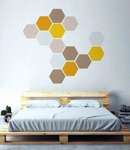Geometric Shapes Wall Decals children bedroom