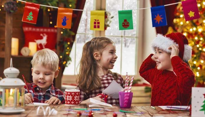 Kids Christmas Activities India - Children Christmas games - Toddlers Christmas Crafts