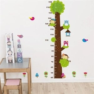 Kids Height Chart Decal bedroom