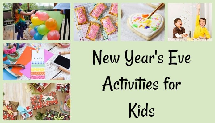 New Years Eve Activities for Kids in India