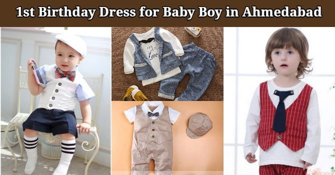 1st Birthday Dress for Baby Boy in Ahmedabad