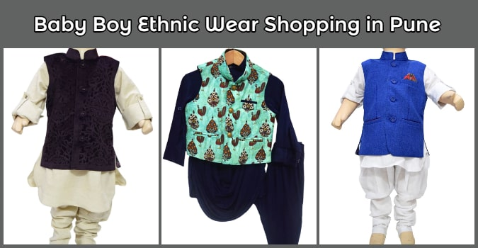 Baby Boy Ethnic Wear Shopping Online in Pune