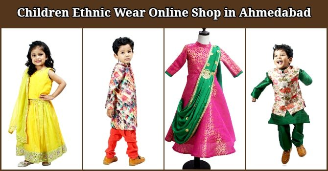 Children Ethnic Wear Online Shop in Ahmedabad