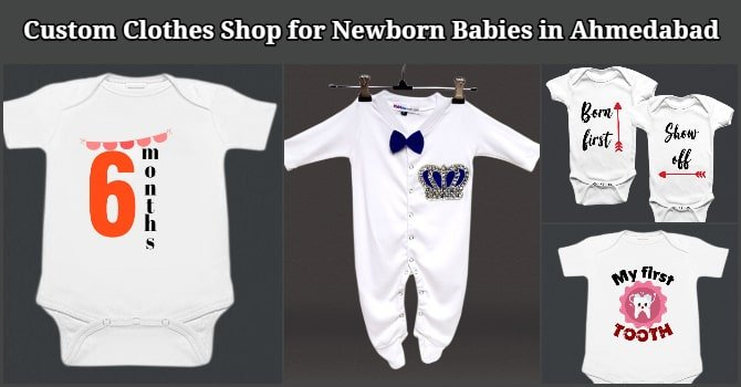 Custom Clothes Shop for Newborn Babies in Ahmedabad