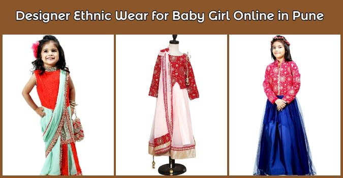 Designer Ethnic Wear for Baby Girl Online in Pune