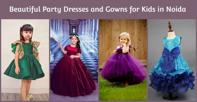 Birthday Party Dresses and Gowns for Kids in noida