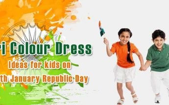 Tri Colour Dress Ideas for kids on 26th January Republic Day