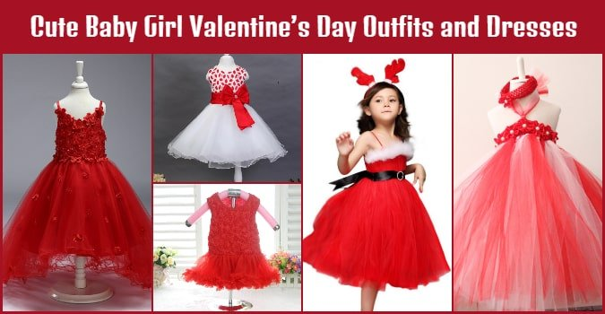 Baby Girl Valentine's Day Dresses - Cute Kids Outfits