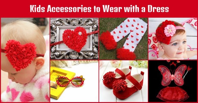 Valentine day Kids Accessories - Baby Hair Accessories