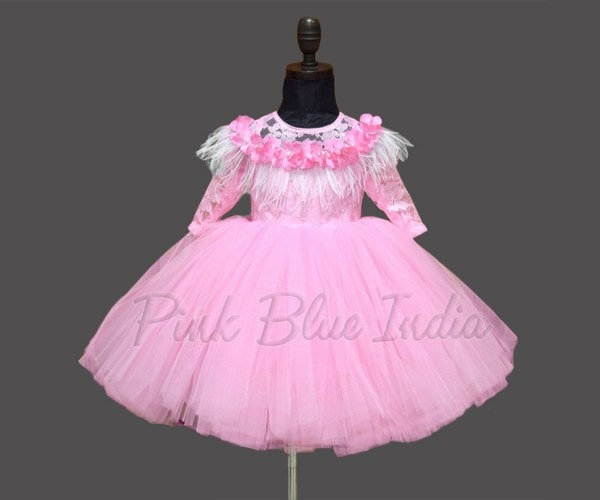 1st Birthday Party Pink Tutu Dress