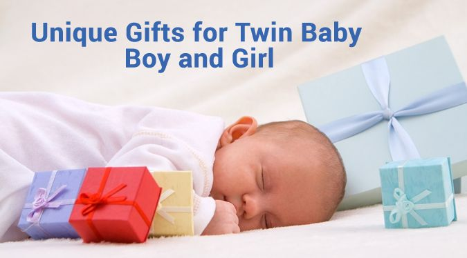 Unique Baby Gift ideas for Twin Boy and Girl