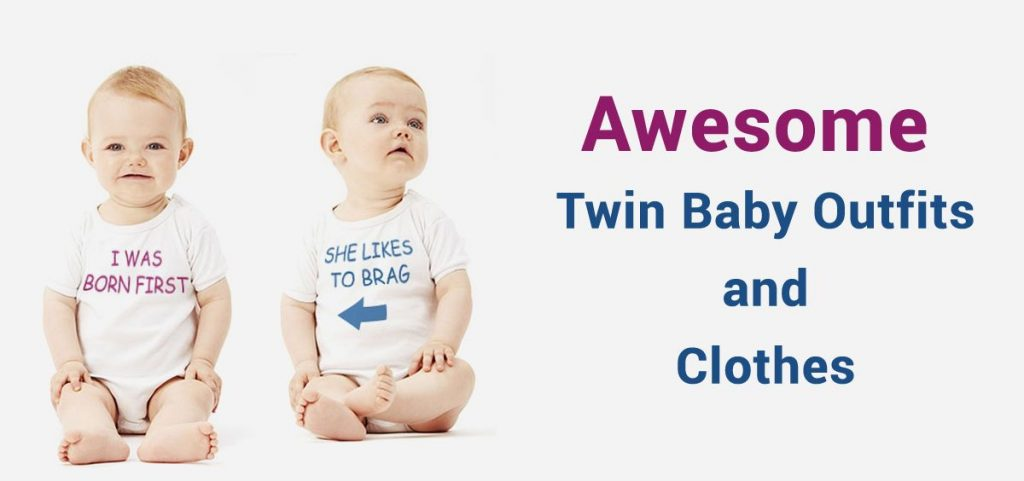 Twin Baby Outfits and Clothes, Twin Newborn Baby Romper Onesies