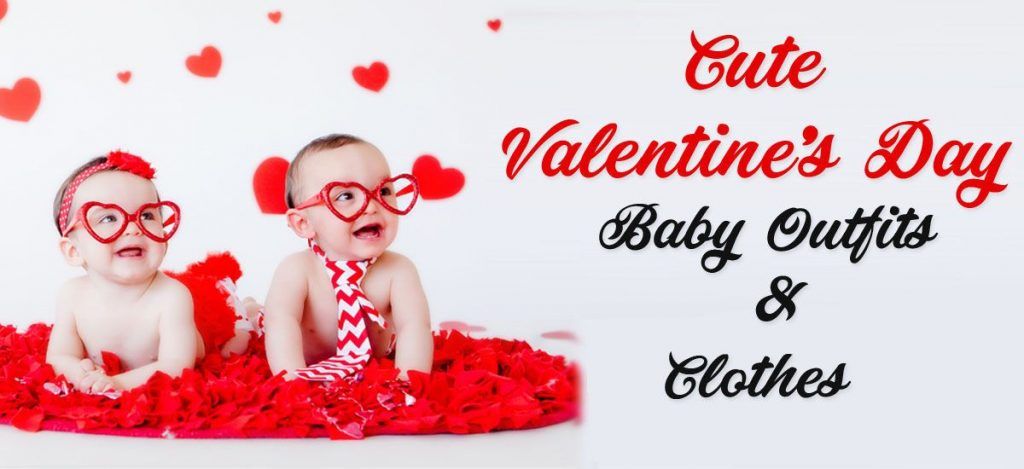 Cute Valentines Day Baby Outfits - Kids Valentines Clothes, Romper