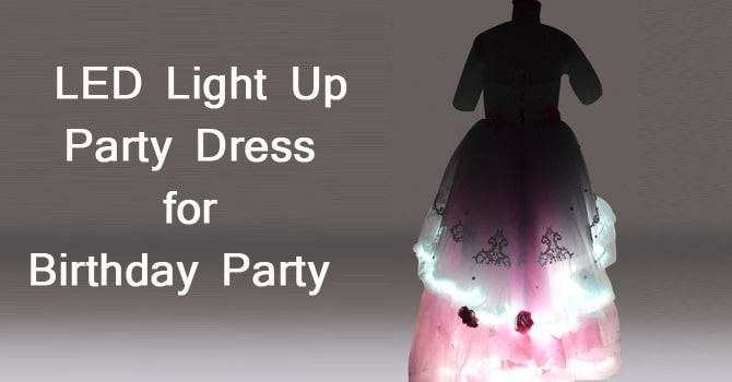 LED Light Up Dress
