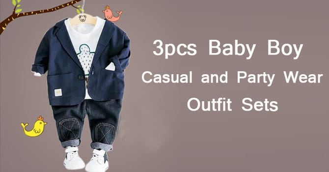 Baby Boy Casual and Party Wear Outfit