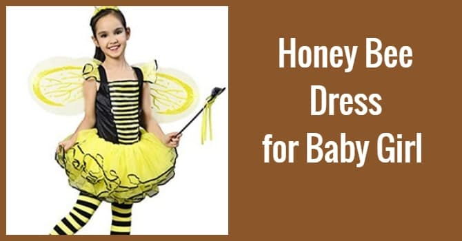 Honey Bee Dress for Baby Girl