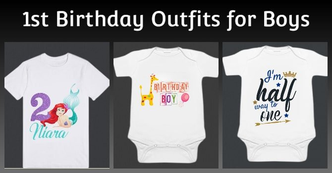 Boys 1st Birthday Outfits - Birthday romper
