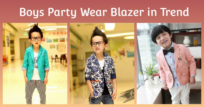 Boys Party Wear Blazer