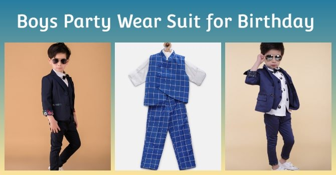 Boys Birthday and Party Wear Suit