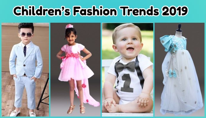 Children's Fashion Trends 2019, Latest Summer Dresses, Baby Clothes