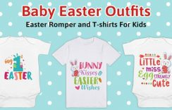 Cute Baby Easter Outfits – First Easter Baby Romper for Boys/Girls