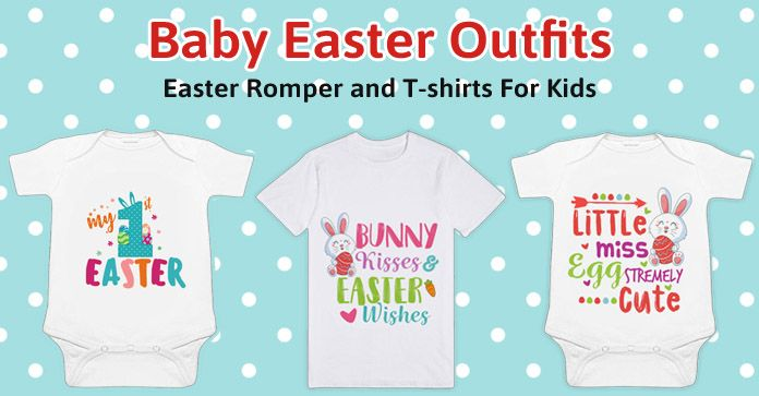 Easter Baby Outfits - Easter Newborn Baby Romper - Kids T-shirts India