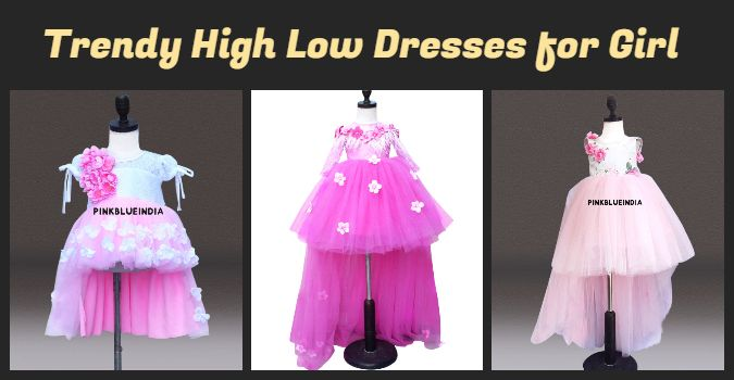High Low Dresses for Baby Girl