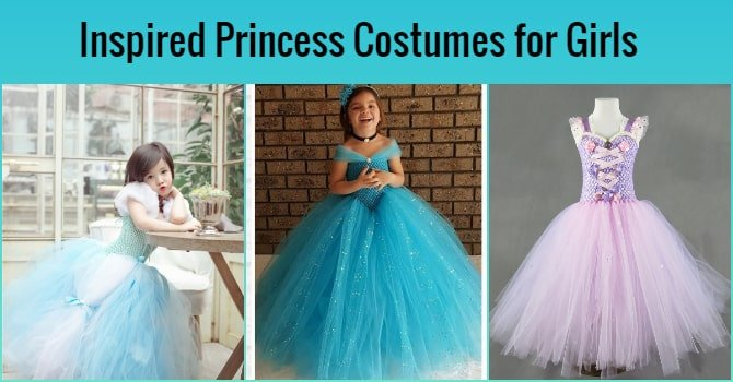 Inspired Princess Costumes for Girls