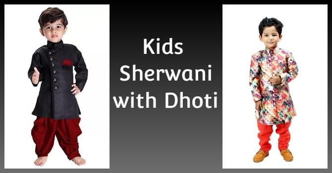 Kids Sherwani and Dhoti Set - Boys Ethnic Wear