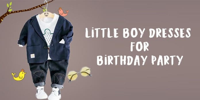 Little Boy Birthday Dresses - Kids Party Wear Dress Outfits