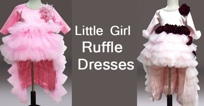 Little Girl Ruffle Dresses