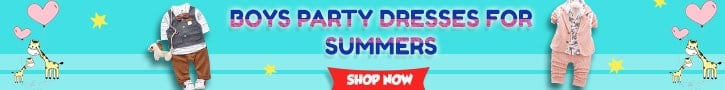 Latest Baby boy summer party Dresses