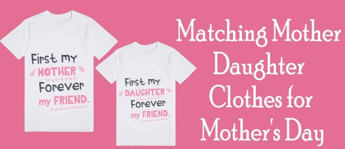 Matching Mother Daughter Clothes for Mother's Day