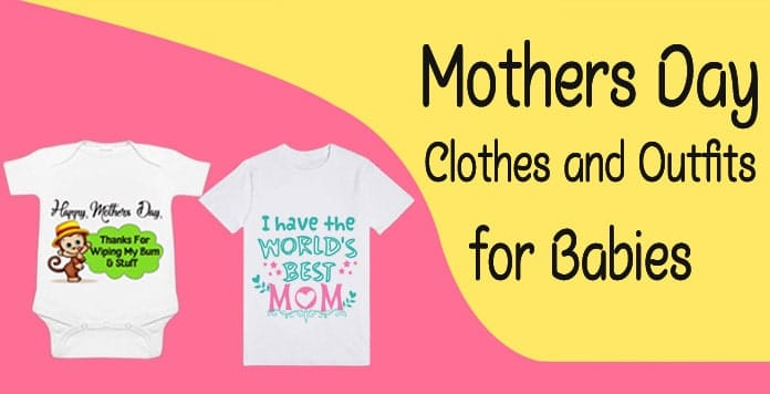 Mothers Day Baby Clothes - Boy Girl Mothers Day Outfits - Custom Baby Romper