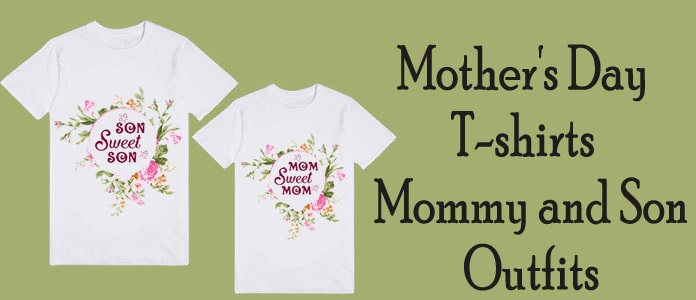 Mother's Day Matching T shirts - Mommy and Son Outfits