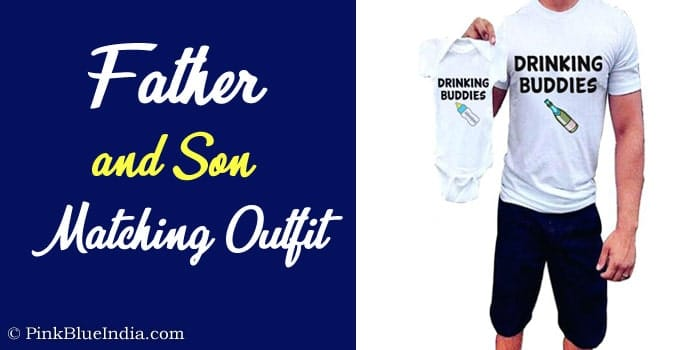 Father and Son Matching Outfit - Dad and Son t-shirts Online India