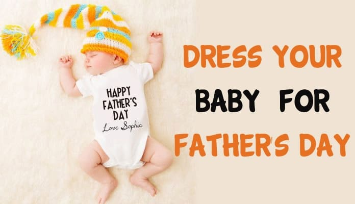 Father's Day Gifts - First Father's Day Baby Clothes India