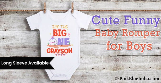 Cute Funny Baby Romper for Boys