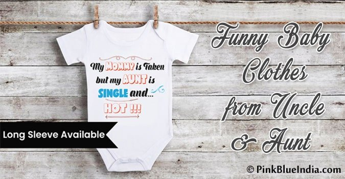 Funny Baby Clothes from Uncle Aunt