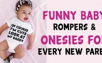 11 Funny Baby Rompers & Onesies for Every New Parent