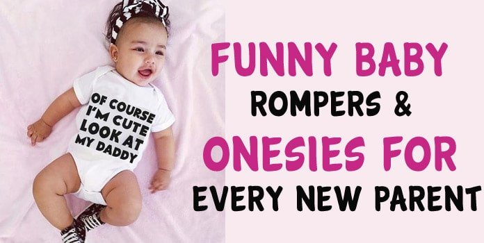 Funny Baby Rompers - Funny Baby Onesies - Baby Clothes India