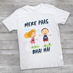 Brother and Sister Matching T-shirts, Rakhi T-shirt India