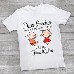 Raksha Bandhan T-Shirts, Rakhi T-shirts Online