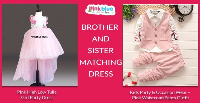 Brother and Sister Matching Dress - Kids Siblings Outfits