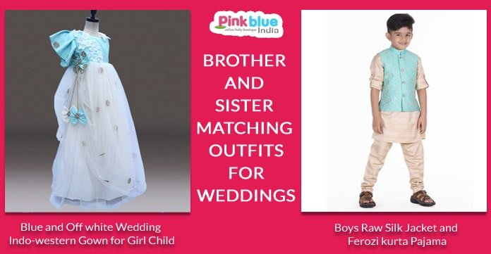 Brother and Sister Matching Outfits for Weddings