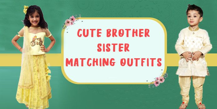 Brother Sister Matching Outfits – Kids Twinning Dresses, Sibling Dresses
