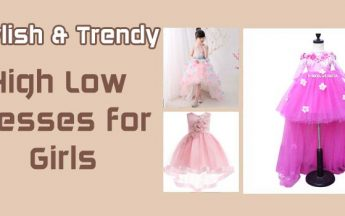 Girls High Low Dresses: 7 Stylish and Trendy Kids Party Dresses