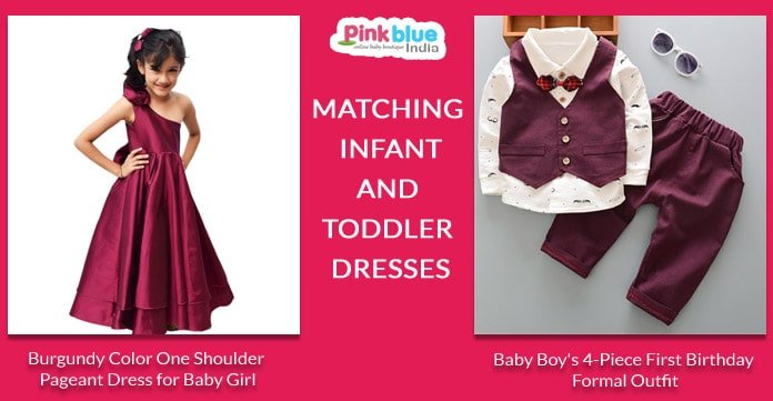 Matching Infant and Toddler Dresses, Brother Sister Siblings Outfits